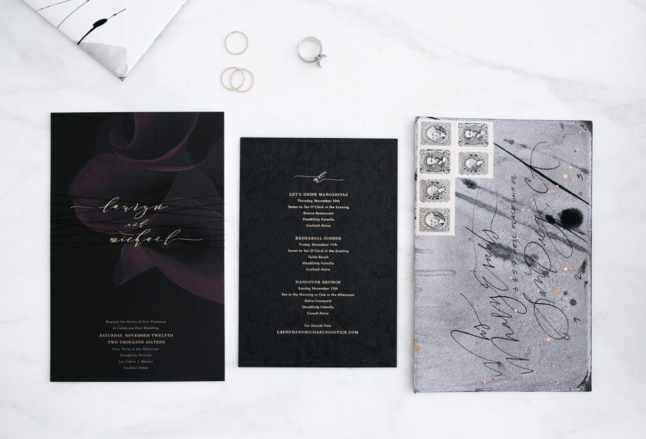 wedding invitations 4 | by the skinny confidential