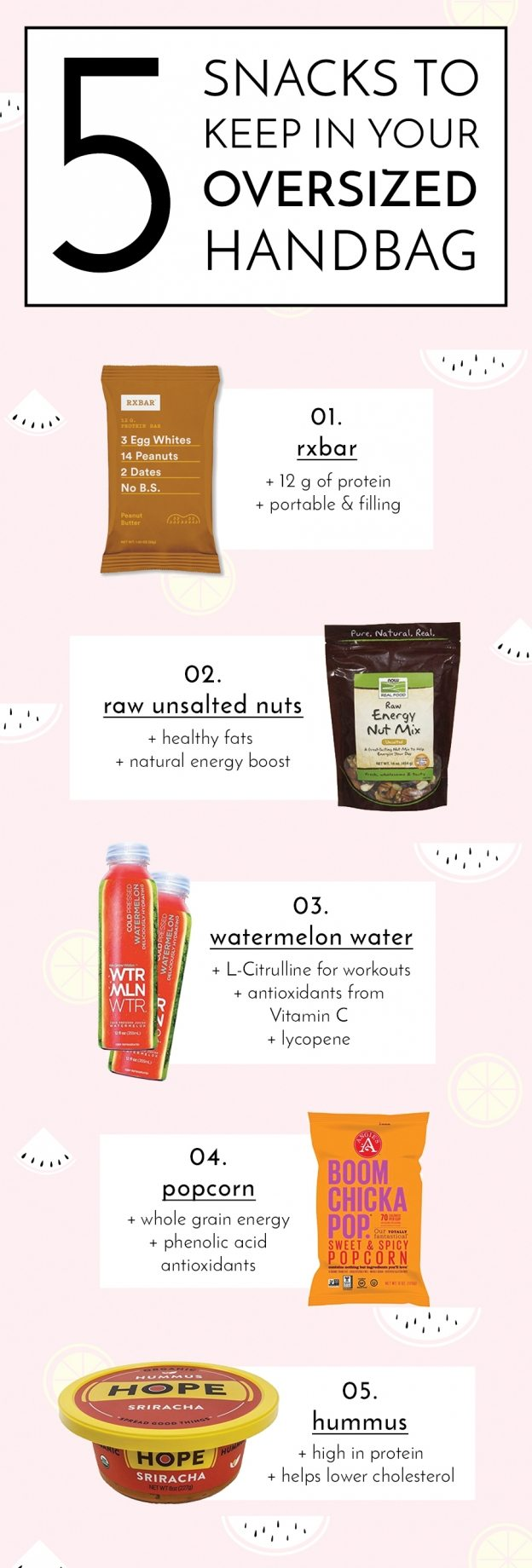 5 healthy snacks for your purse | by the skinny confidential
