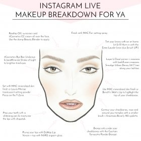 INSTAGRAM LIVE MAKEUP BREAKDOWN FOR YA