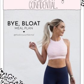 BYE, BLOAT MEAL PLAN