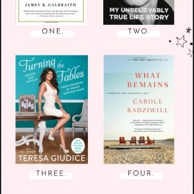 The Skinny Confidential Book Club: April Reads