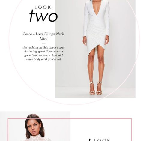 white dresses | by the skinny confidential