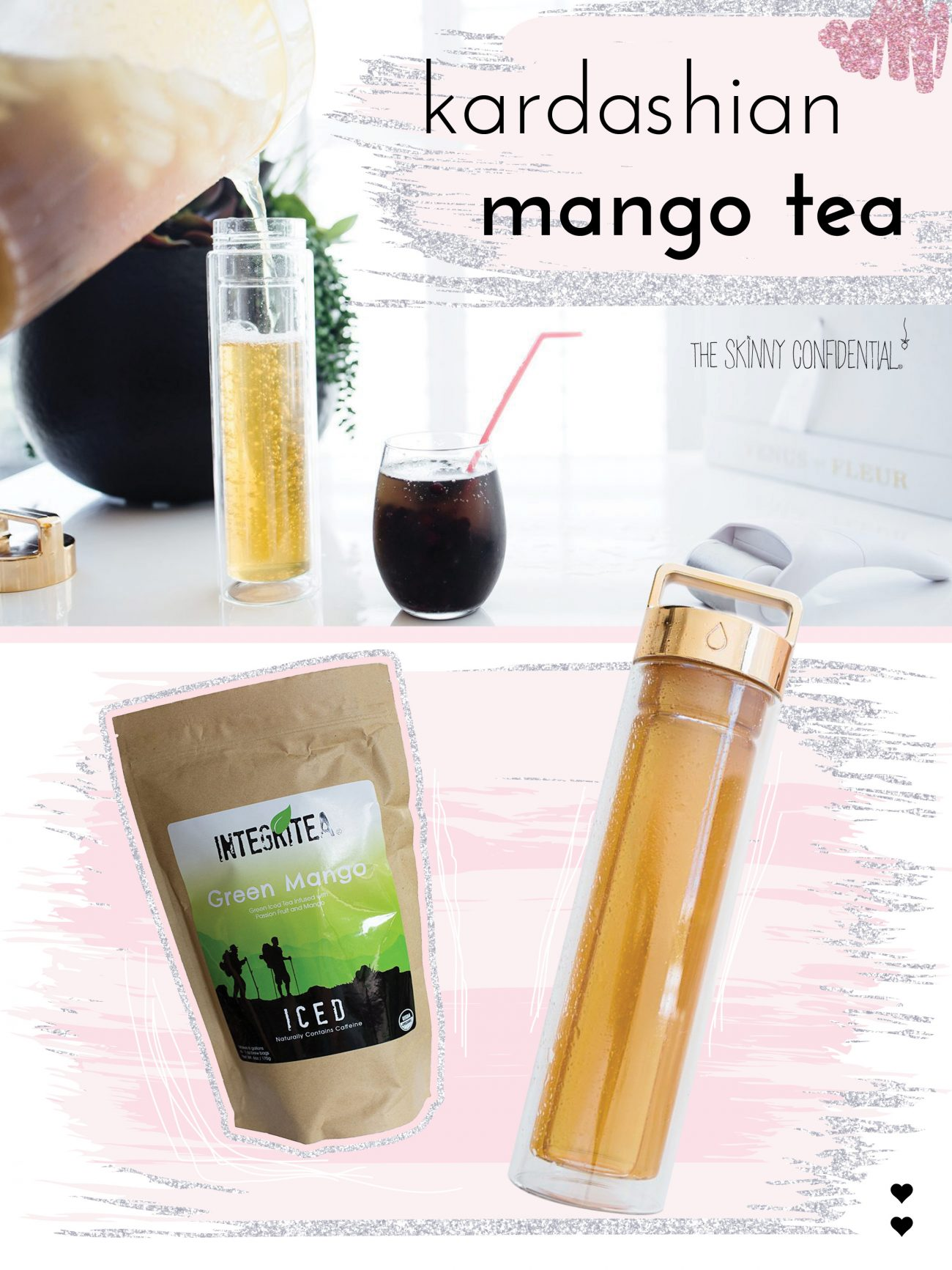 green mango tea kardashian drink | by the skinny confidential