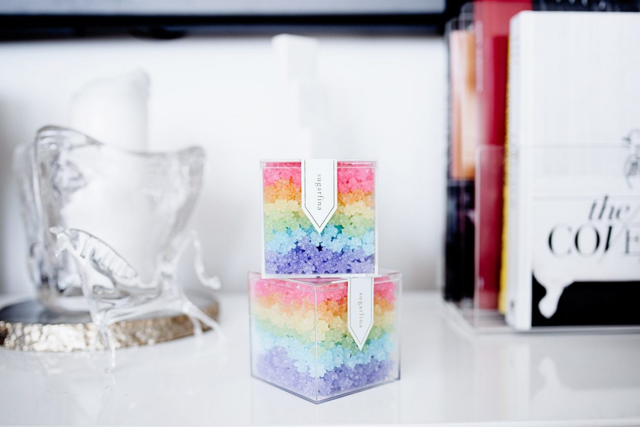 mini delites: the power of social media. Rainbow candy | by the skinny confidential