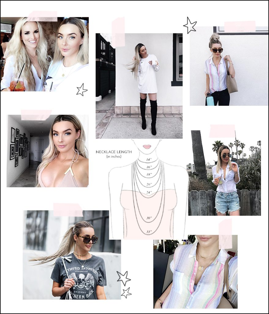 how to layer your dainty jewelry | by the skinny confidential