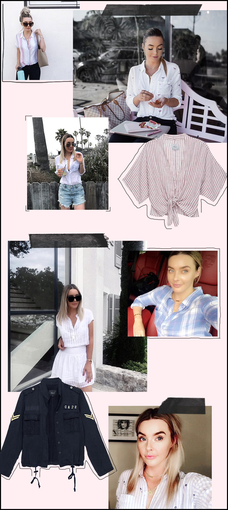 linen moment + rails linen shirts | by the skinny confidential