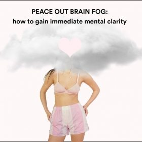 PEACE OUT BRAIN FOG: HOW TO GAIN IMMEDIATE MENTAL CLARITY
