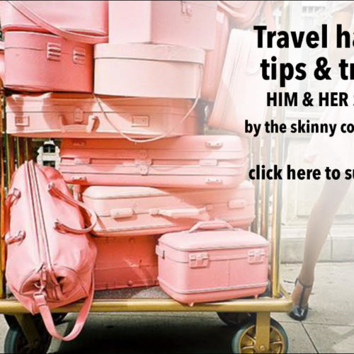 TSC HIM & HER PODCAST EPISODE 75: TRAVEL HACKS, TIPS & TRICKS