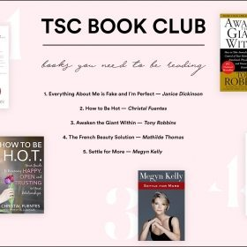 TSC BOOK CLUB: BOOKS YOU NEED TO BE READING