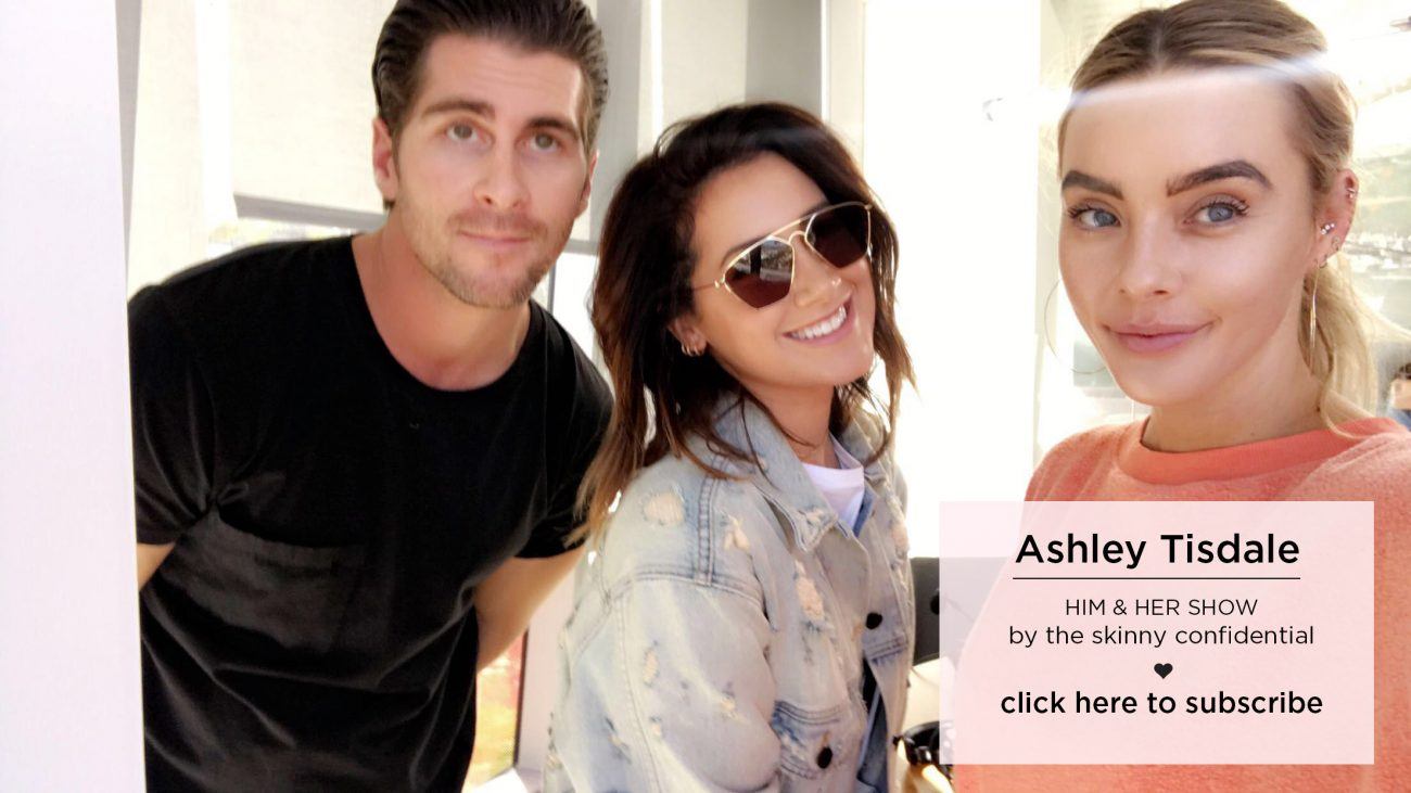ashley tisdale acting makeup lifestyle tips