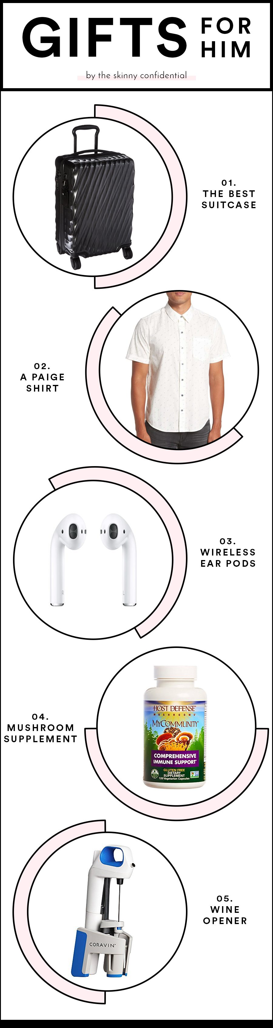 headphones luggage clothing christmas gift ideas by the skinny confidential