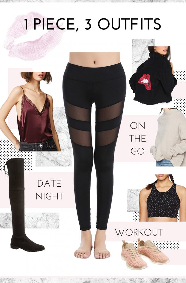 leggings going out date night workout fashion budget tsc