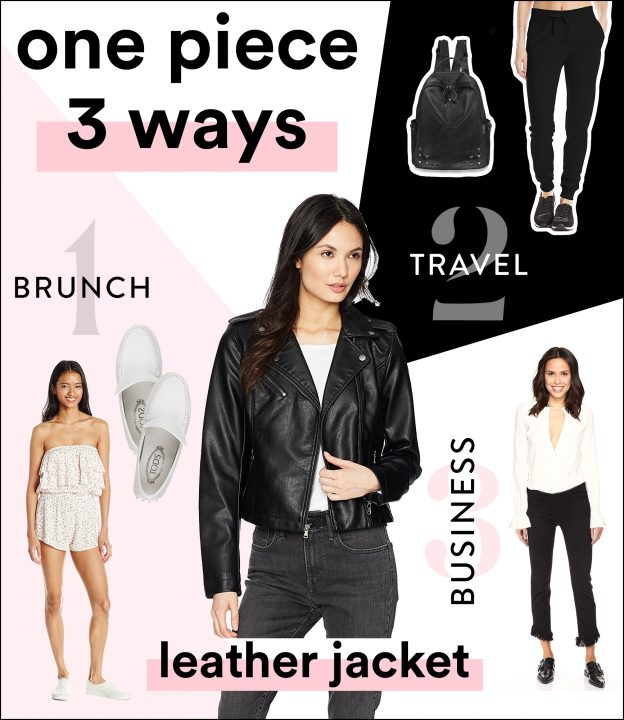 leather jacket fashion styles