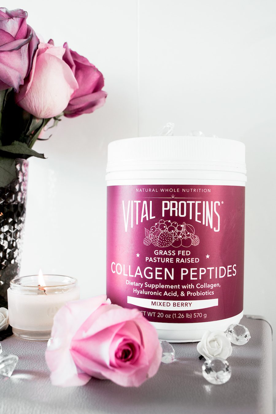 Vital Proteins Mixed Berry Collagen Peptides by The Skinny Confidential