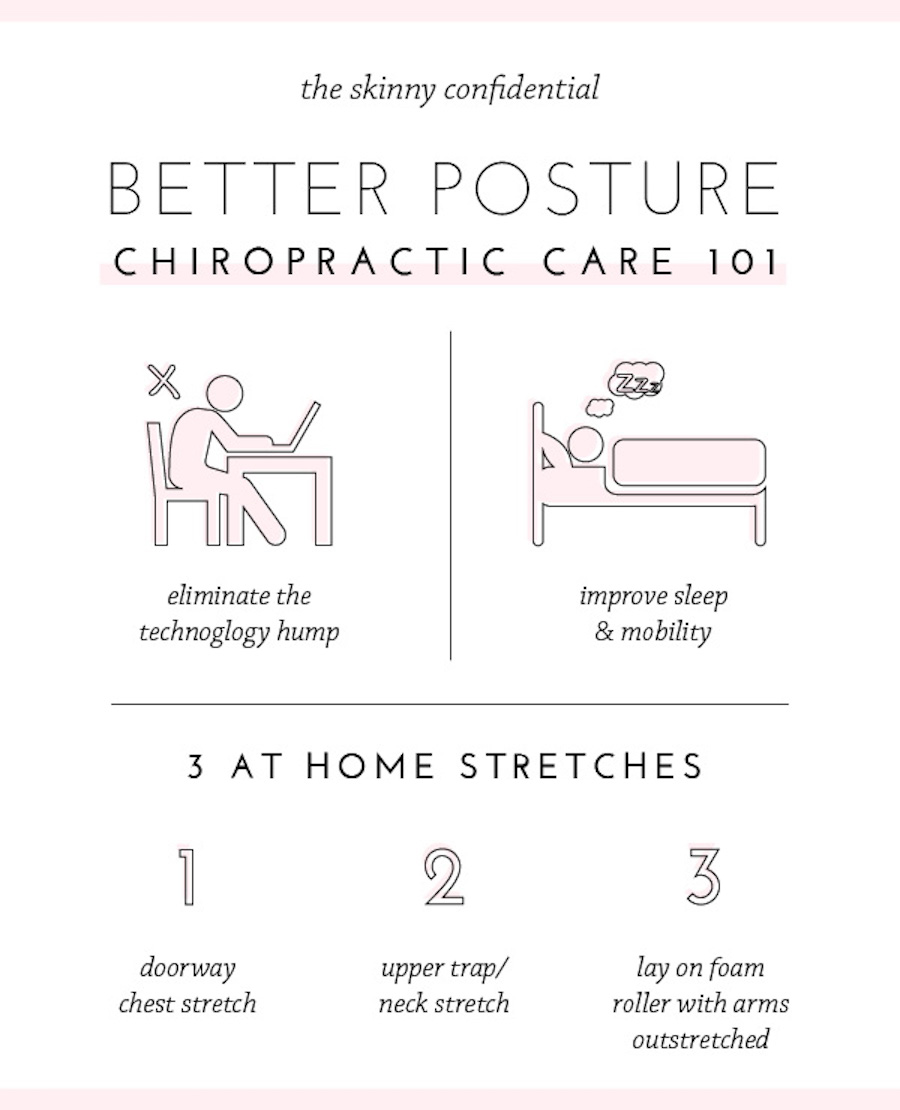 Better Posture How To Get Rid Of A Dowager S Hump
