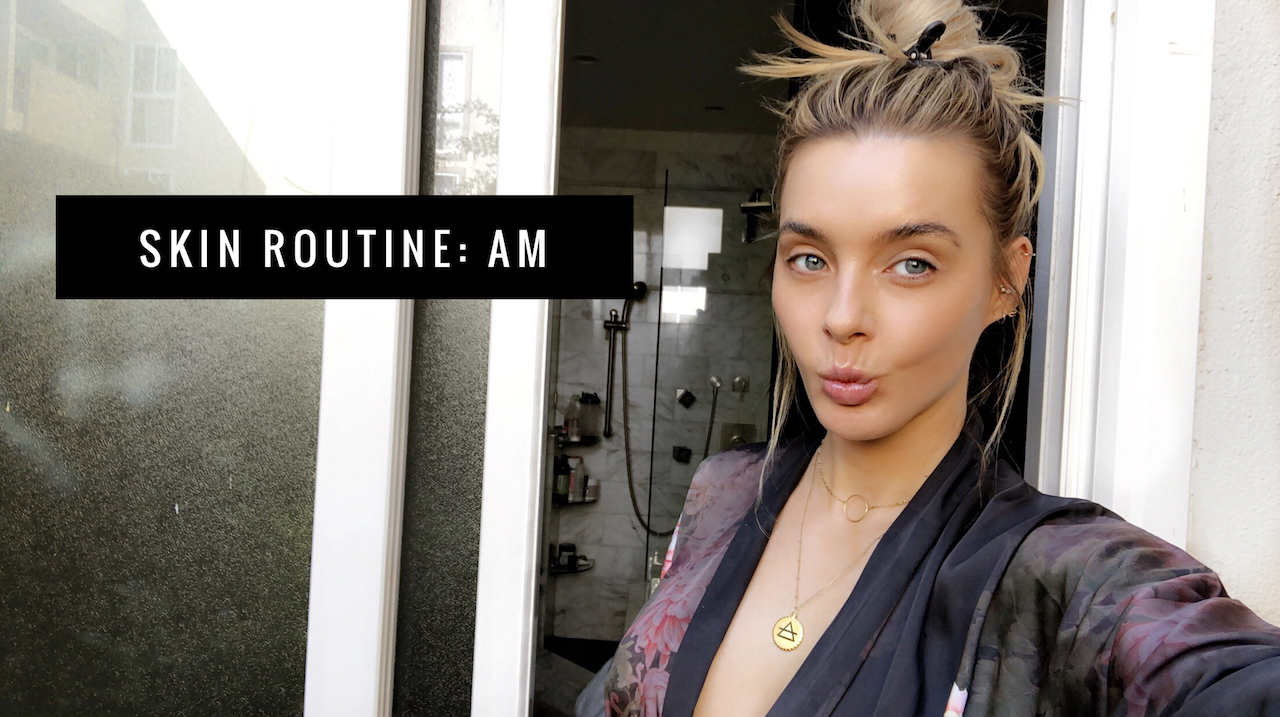 HOW TO ACHIEVE GLOWING SKIN: AM SKINCARE ROUTINE