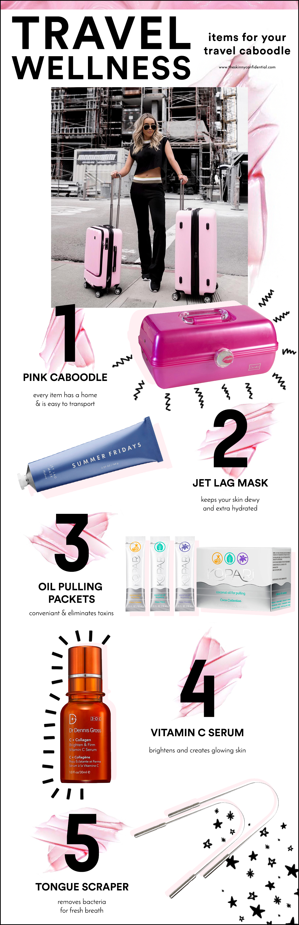 caboodle skincare beauty travel essentials by the skinny confidential
