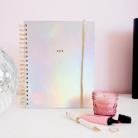 MY FLIRTY, PRETTY 2018 PLANNER + WHY YOU NEED ONE
