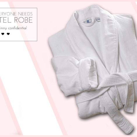 hotel silk robe plush luxury comfort by the skinny confidential