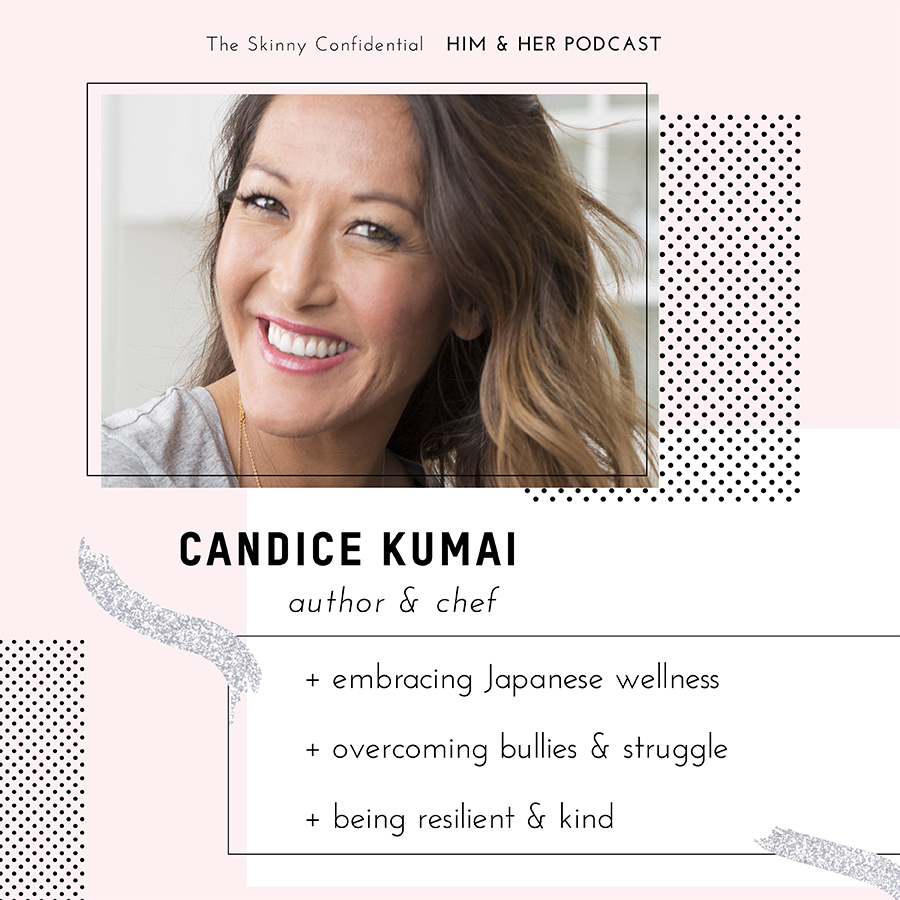 candice kumai Japanese wellness podcast interview by the skinny confidential