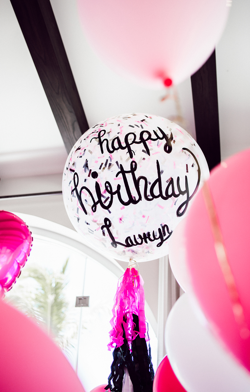 surprise party birthday decor decorating tips how to easy by the skinny confidential