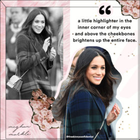 MEGHAN MARKLE SPARKLE: GET THAT HONEYMOON GLOW