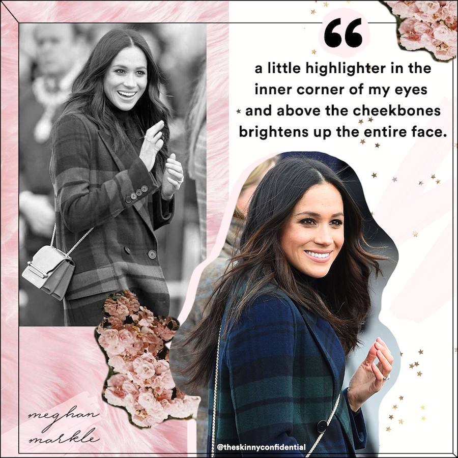royal wedding makeup beauty wellness meghan by the skinny confidential