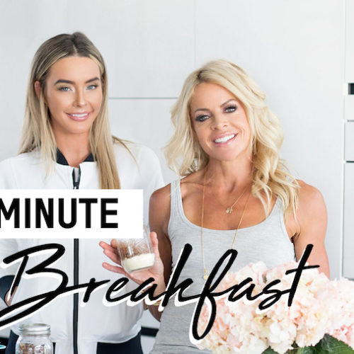 2 MINUTE BREAKFAST FOR WHEN YOU'RE RUNNING OUT THE DOOR