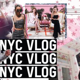 NEW YORK CITY VLOG | BEHIND THE SCENES