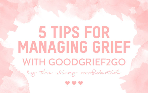 good grief to go workshop healing death by tsc