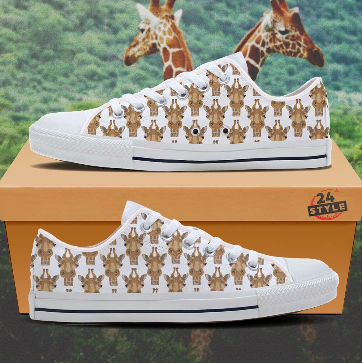 good grief 2 go giraffe shoes by tsc