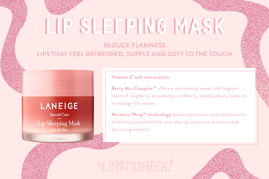 This Lip Mask Will Change Your Life | The Skinny Confidential