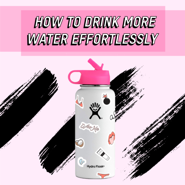 water hydration skincare glowing health wellness tip by tsc