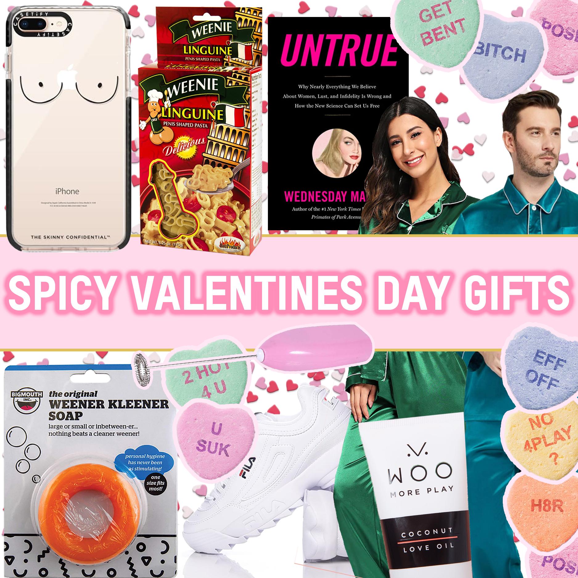 valentines day woo coconut lube boobs pajamas sexuality books untrue