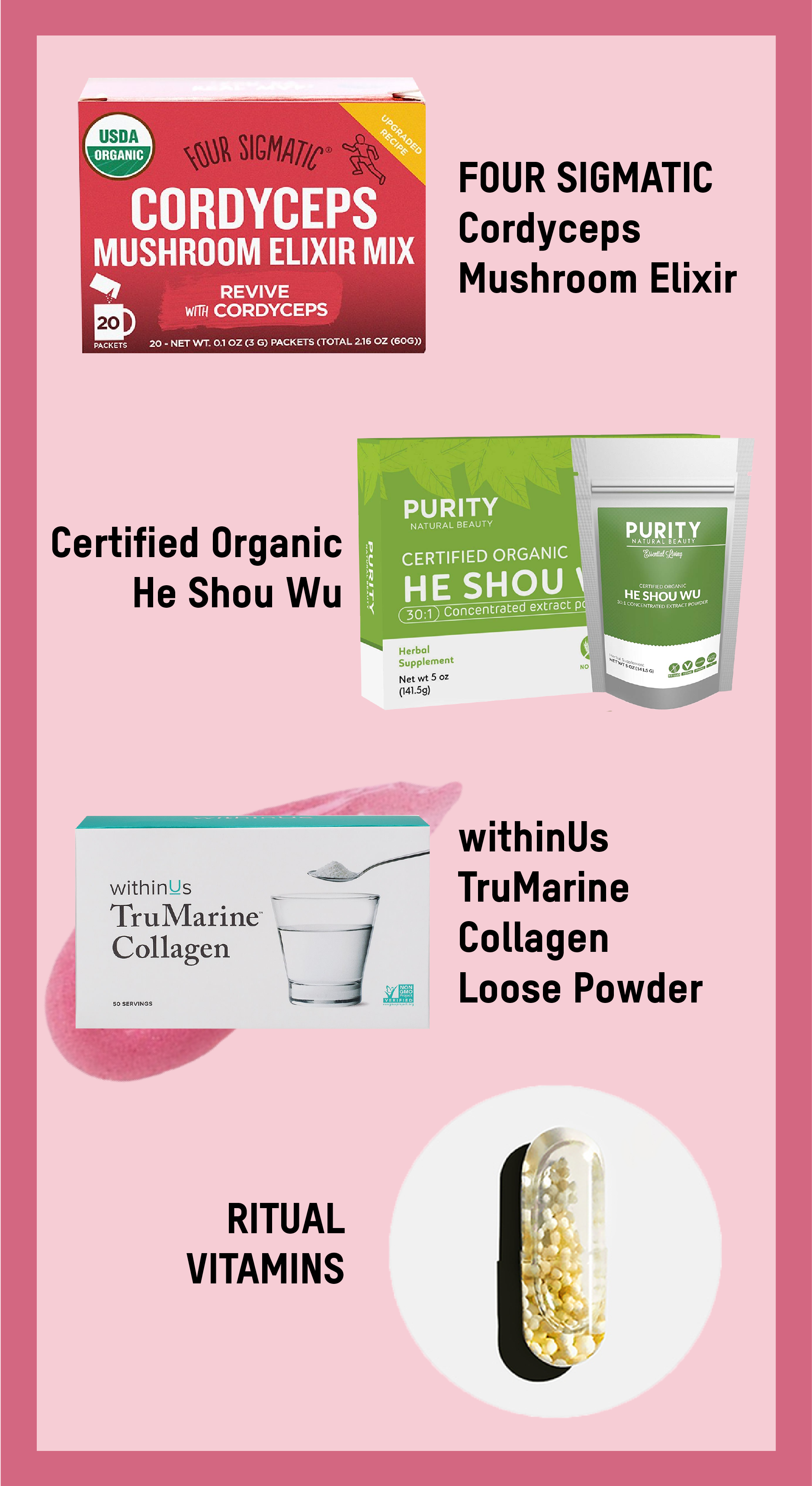 favorite supplements by the skinny confidential