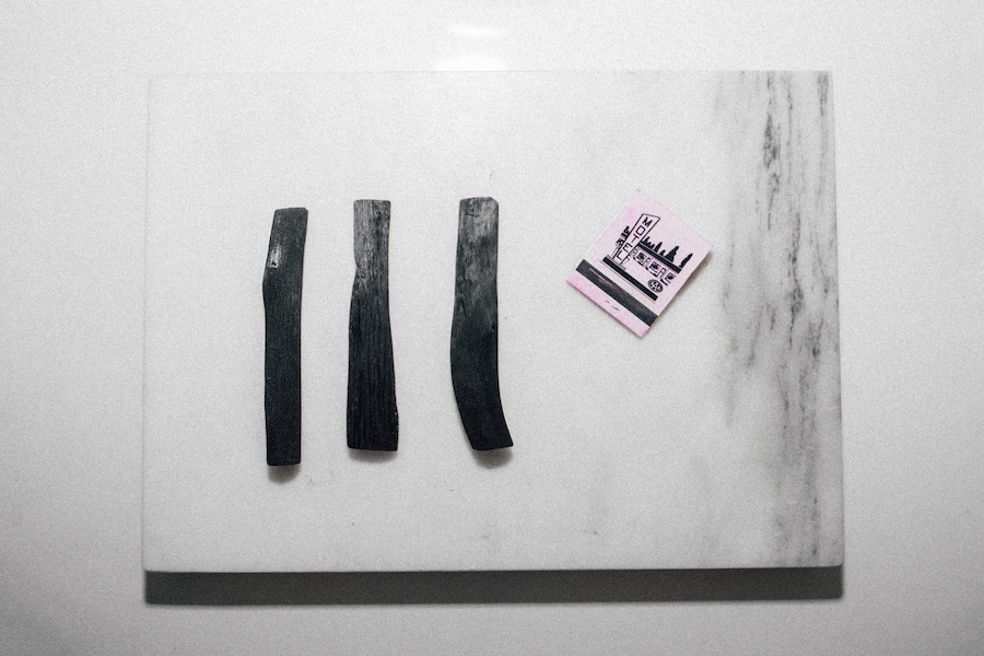 using charcoal sticks for water purification, beauty & skincare   by the skinny confidential