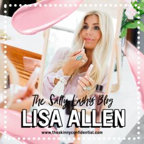 LISA ALLEN OF @SALTYLASHES Q & A
