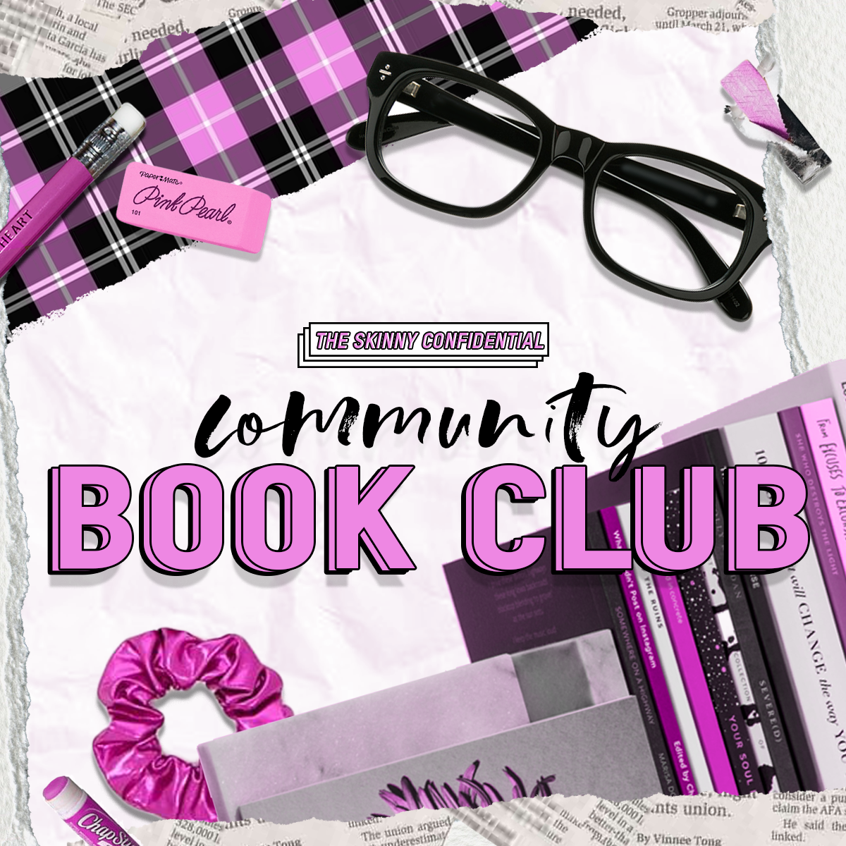 The Skinny Confidential Community Book Club