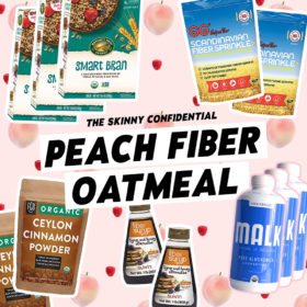 Fiber-Filled Peaches & Cream Oatmeal That Very Much Helps With Constipation
