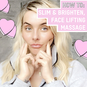 Facial Massage Routine for Glowing Skin and a Slimmer Face