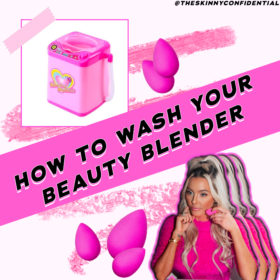 Beauty Blender Washing Machine Hack