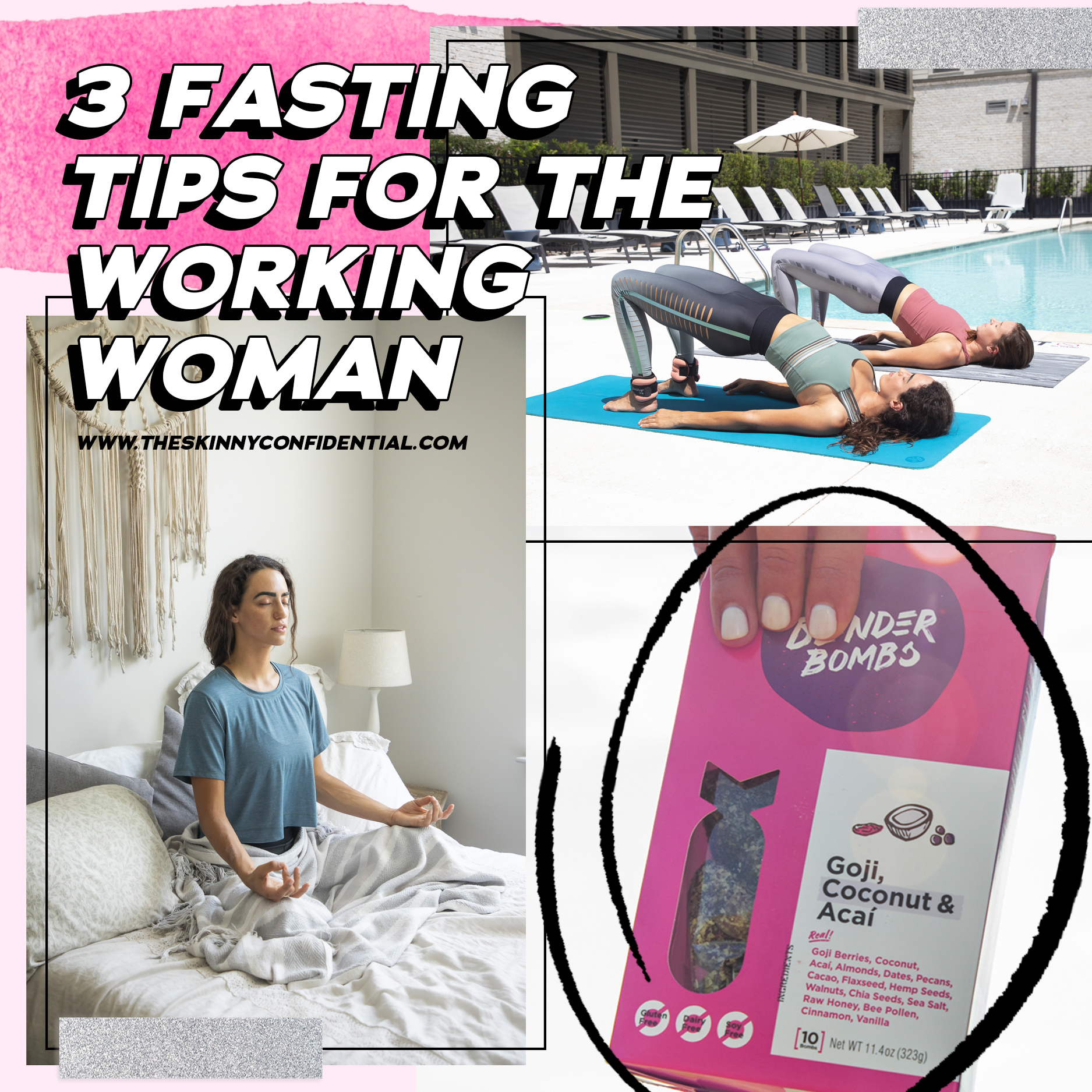 3 Fasting Tips For The Working Woman and Smoothie Recipes to Help You Break a Fast