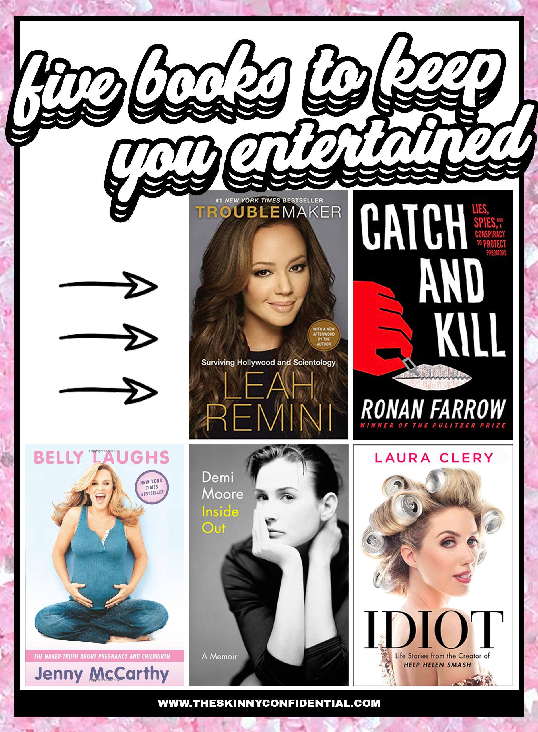 5 Books To Keep You Entertained
