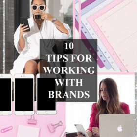 10 tips for working with brands tsc blog graphic