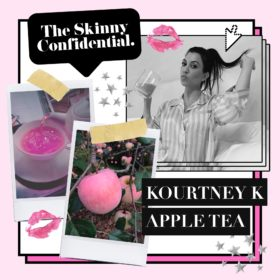 Kourtney Kardashian's Magical Apple Tea