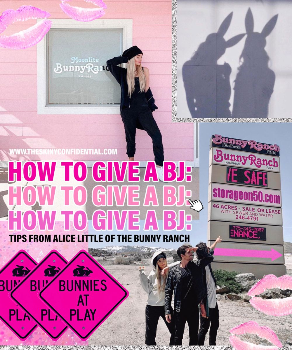 The Art of The Blow Job: Everything You Need to Know About The Bunny Ranch's Top Bunny