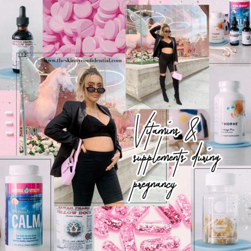 Pregnancy Supplements, Tinctures & Herbs