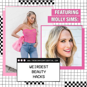 Molly Sims & I Are Sharing Our Beauty Hacks With You Today
