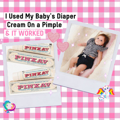 I Used My Baby's Diaper Cream On a Pimple and It Worked