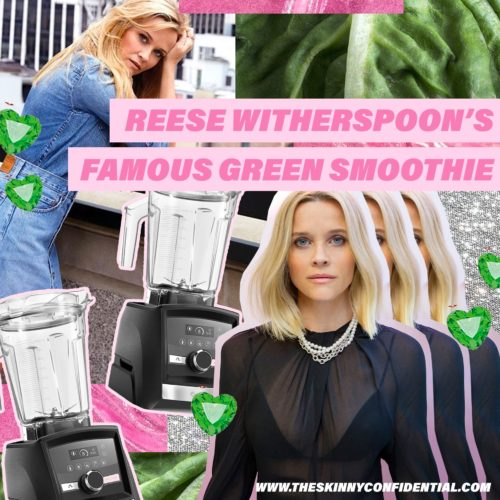 Reese Witherspoon's Famous Glowing Green Smoothie